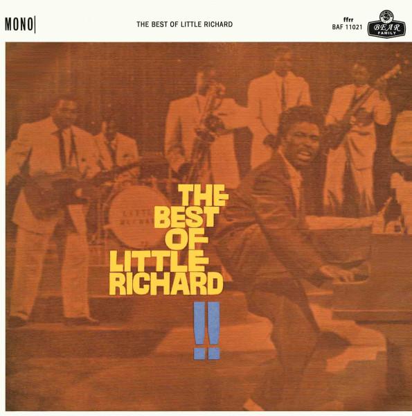 The Best Of Little Richard !! (LP, 10inch, Ltd.)