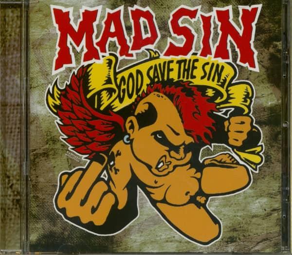 God Save The Sin (CD)