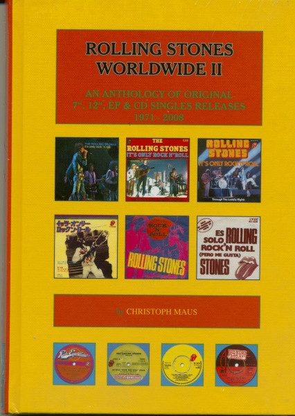 An Anthology of Original 7'', 12'', EP & CD Singles Releases 1971-2008 - Rolling Stones Worldwide Vol.2
