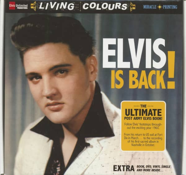 Elvis Is Back - Box Set (Book - DVD, 45rpm) Limited Edition