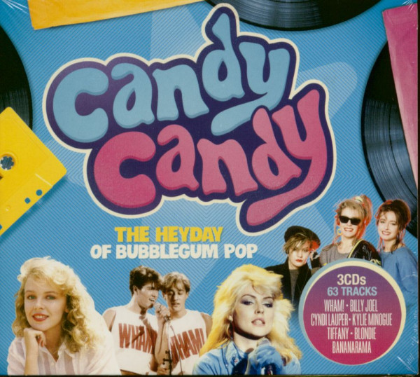 Candy Candy - The Heyday Of Bubblegum Pop (3-CD)