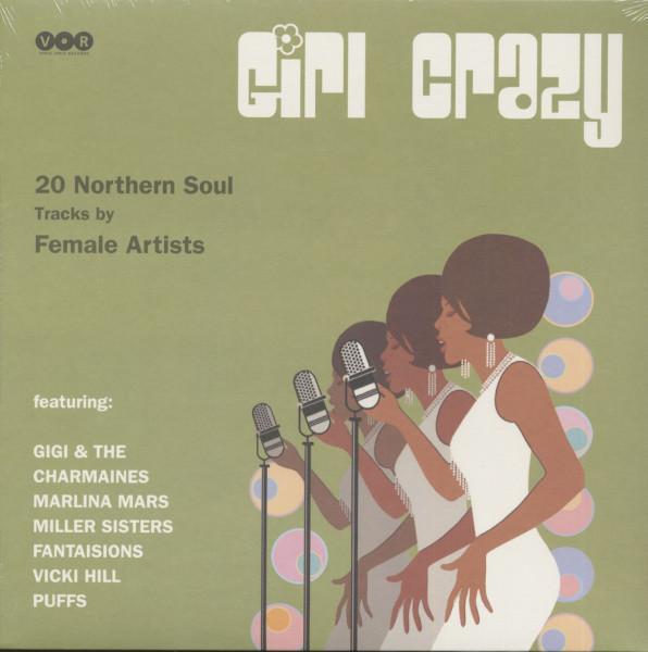 Girl Crazy - Northern Soul Females (LP)