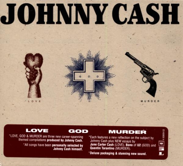 Love, God, Murder 3-CD(US)