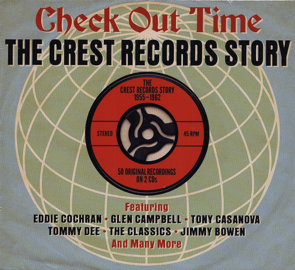 Check Out Time - The Crest Records Story (2-CD)
