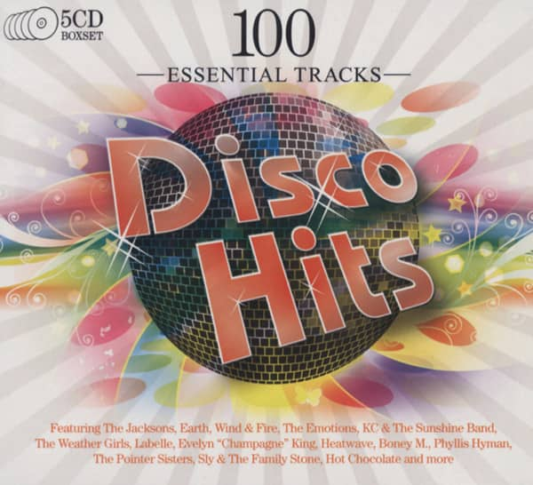 Disco Hits - 100 Essential Tracks (5-CD)