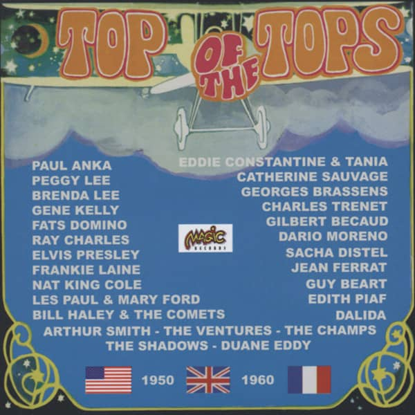 Top Of The Tops 1950-60 (CD)
