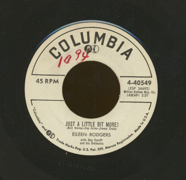 Just A Little Bit More - Now Is The Time (7inch, 45rpm)