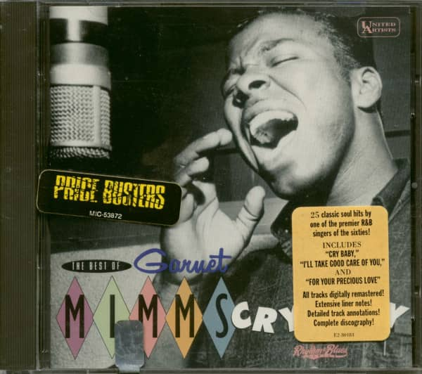 The Best Of Garnet Mimms - Cry Baby (CD)