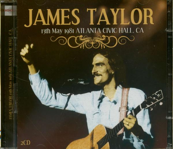 13th May 1981 Atlanta Civic Hall, CA (2-CD)