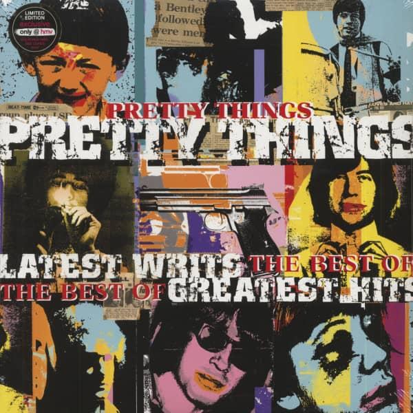 Latest Writs - Greatest Hits (LP, Colored Vinyl, Ltd.)