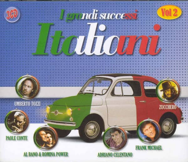 Vol.2, Italiani - I Grandi Successi (3-CD)
