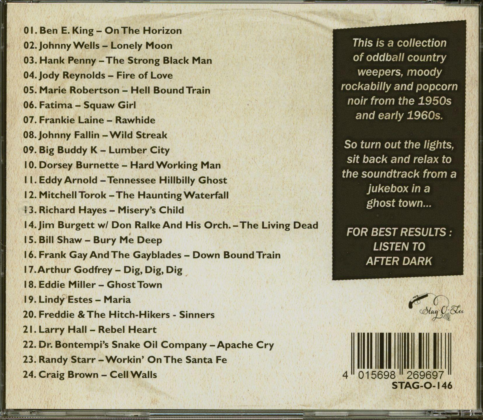 Various Gunsmoke Vol 3 & 4 - Dark Tales Of Western Noir (CD)