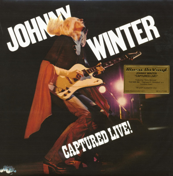 Captured Live! (LP, 180g Vinyl, Ltd.)