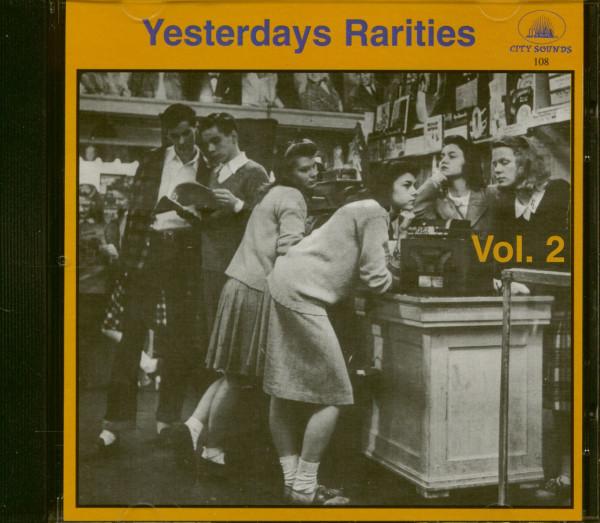 Yesterdays Rarities Vol.2 (CD)