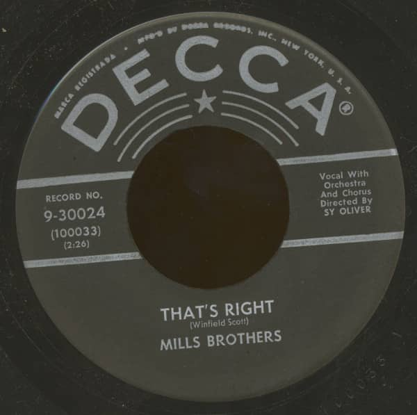 That's Right - Don't Get Caught (7inch, 45rpm)