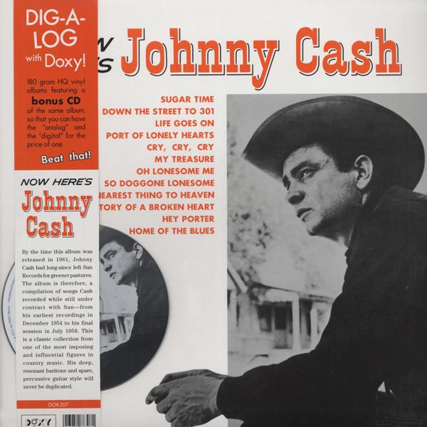 Now Here's Johnny Cash (LP & CD, 180g Vinyl)
