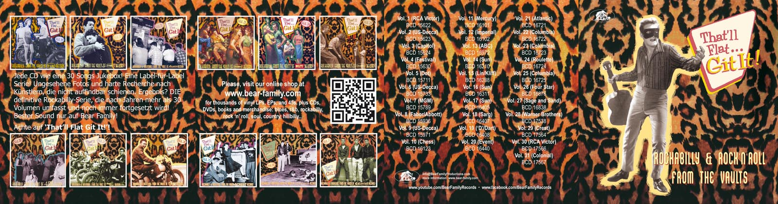 08a706e81493 Various - That ll Flat Git It! CD  Vol.31 - Rockabilly   Rock  n ...