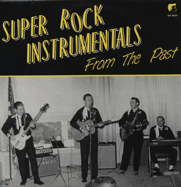 Super Rock Instrumentals From The Past (LP)