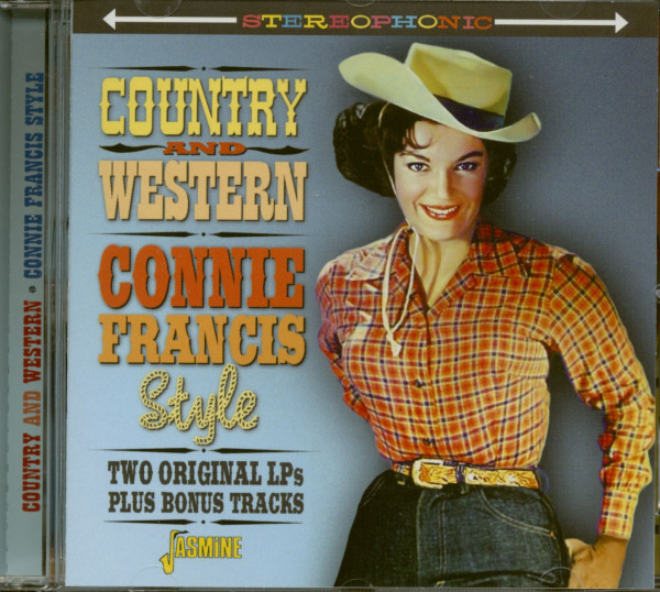 Country And Western - Connie Francis Style (CD)