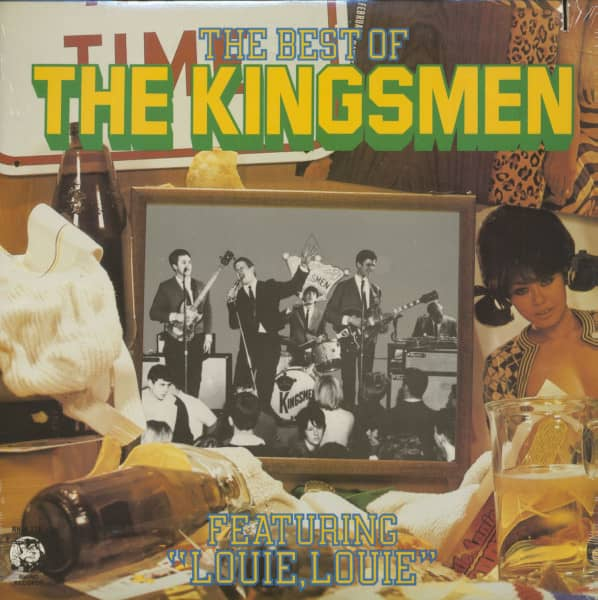 The Best Of The Kingsmen (LP)