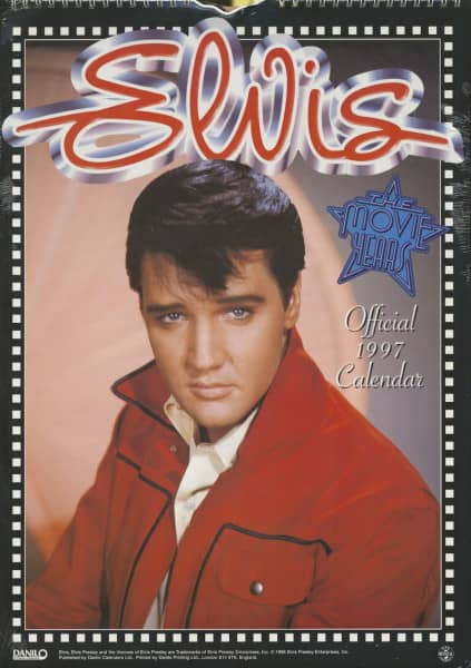 Elvis Presley - The Movie Years - Official 1997 Calendar