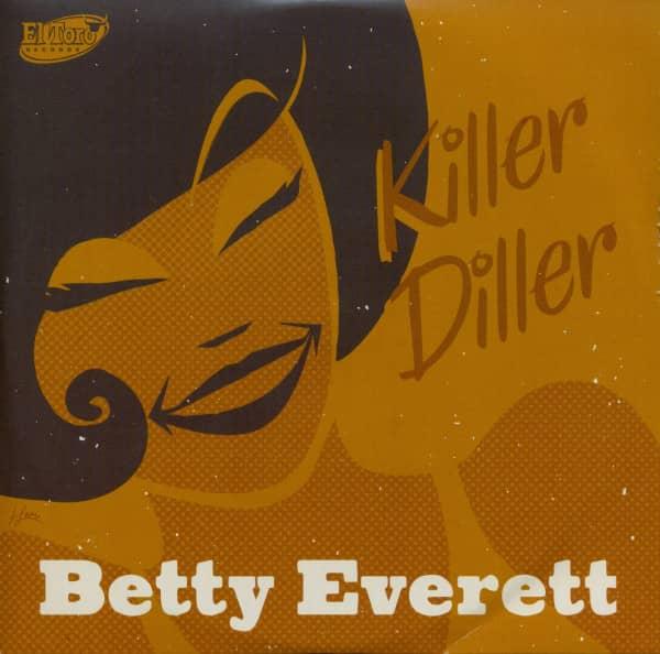 Killer Diller (7inch, EP, 33rpm. PS, SC)