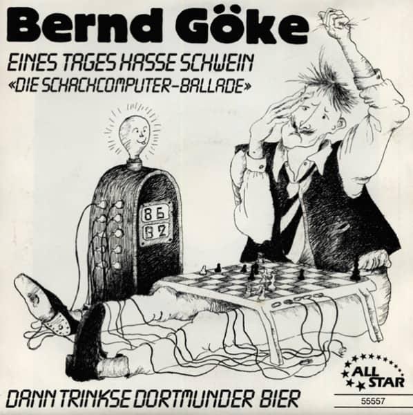 Eines Tages hasse SChwein b-w Dann trinkse Dortmunder Bier 7inch, 45rpm, PS