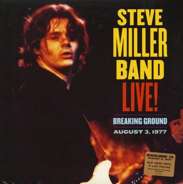 Live! Breaking Ground August 3, 1977 (2-LP, 180g Vinyl)
