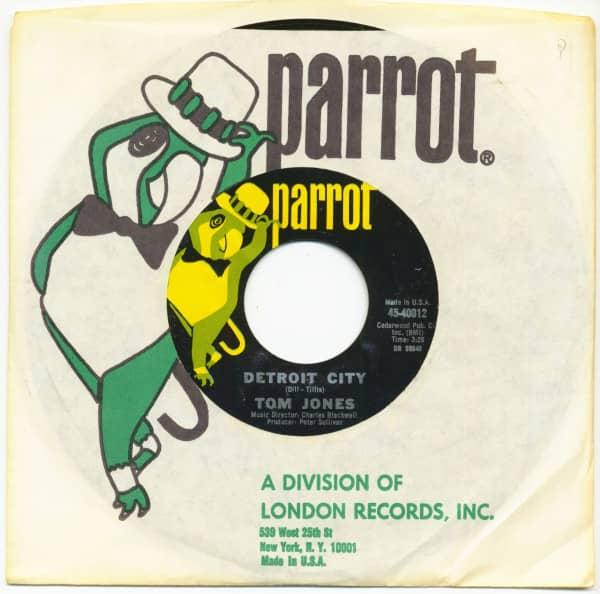 Detroit City - Ten Guitars (7inch, 45rpm)