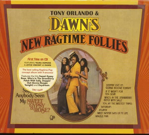 New Ragtime Follies - Tony Orlando & Dawn Series No.3 (CD)
