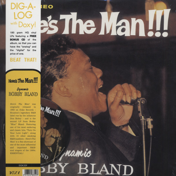 Here's The Man!!! (LP+CD)