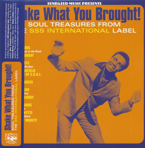 Shake What You Brought! - Soul Treasures From The SSS International Label (LP, Colored Vinyl)
