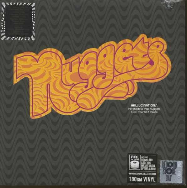 Nuggets - Hallucinations (2-LP, 180g Vinyl, Ltd., RSD)