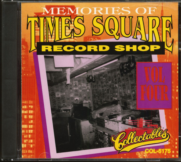 Memories Of Times Square Record Shop Vol.4 (CD)