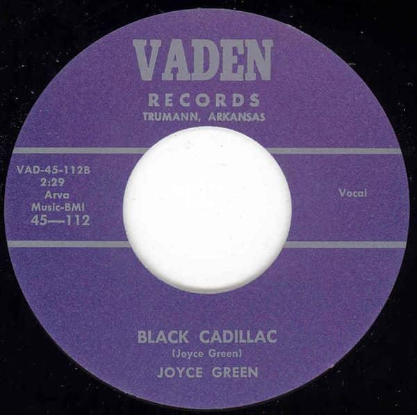 Black Cadillac - Tomorrow 7inch, 45rpm