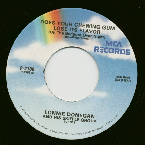 Does Your Chewing Gum Lose Its Flavor - Chirpy Chirpy Cheep Cheep (7inch, 45rpm)