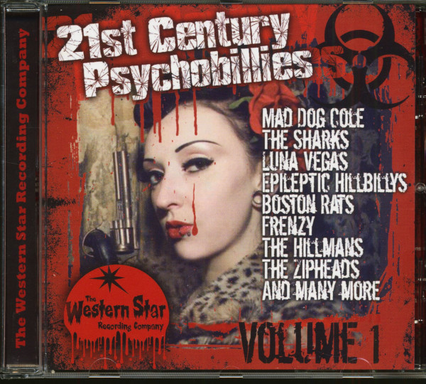 21st Century Psychobillies Vol.1 (CD)