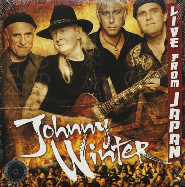 Johnny Winter - Live From Japan (2-LP & Download)