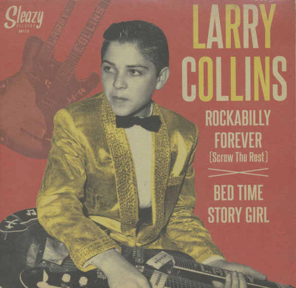 Rockabilly Forever - Bed Time Story Girl (7inch, 45rpm, PS)
