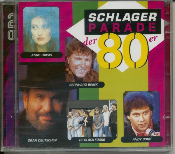 Schlagerparade der 80er 2-CD