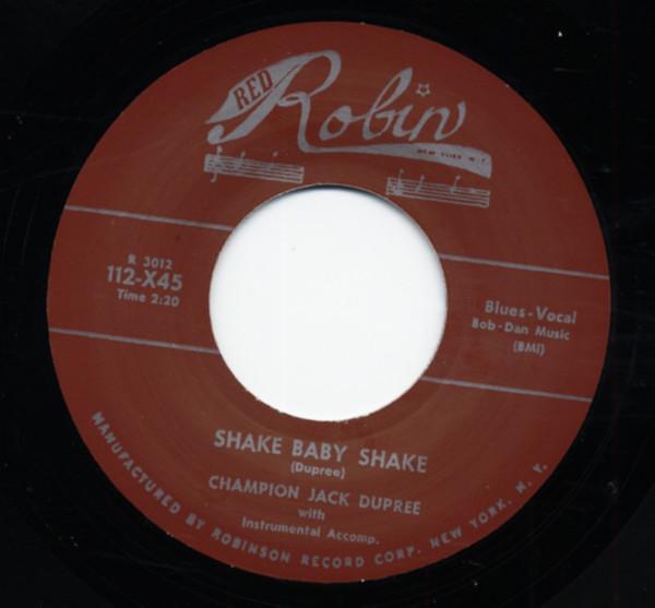 Shake Baby Shake b-w Highway Blues 7inch, 45rpm