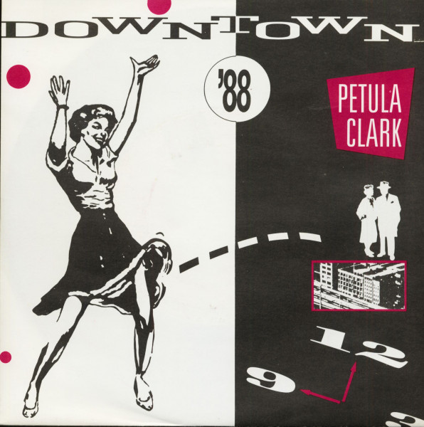 Downtown '88 (7inch, 45rpm, PS)