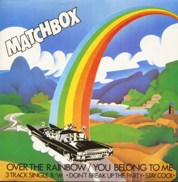 Over The Rainbow (7inch, EP, 45rpm, PS, SC)