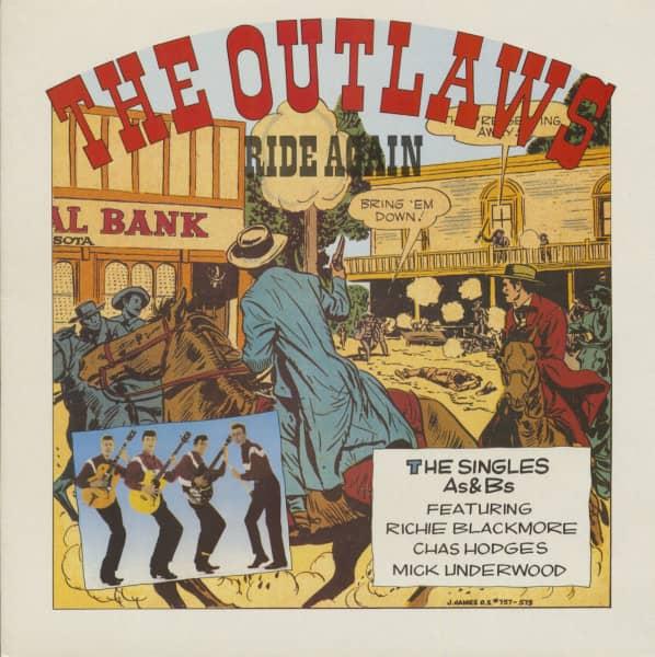 The Outlaws Ride Again (LP)