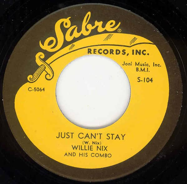 Just Can't Stay b-w All By Yourself 7inch, 45rpm
