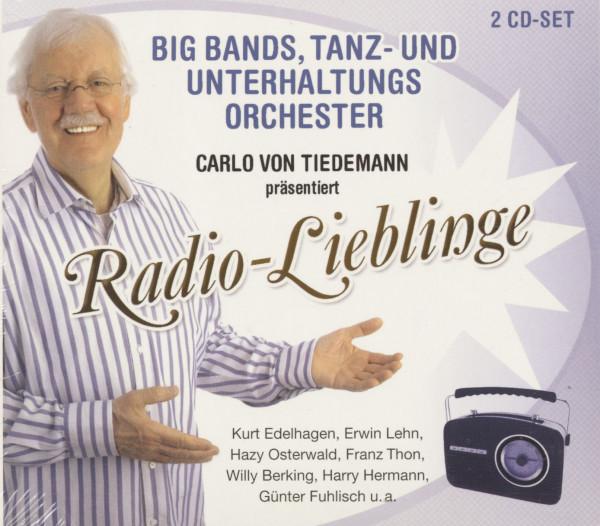 Big Bands, Tanz- und Unterhaltungsorchester - Carlo von Tiedemann präsentiert Radio-Lieblinge (2-CD)