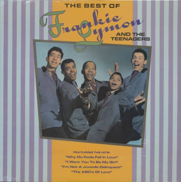 The Best Of Frankie Lymon & The Teenagers (LP)