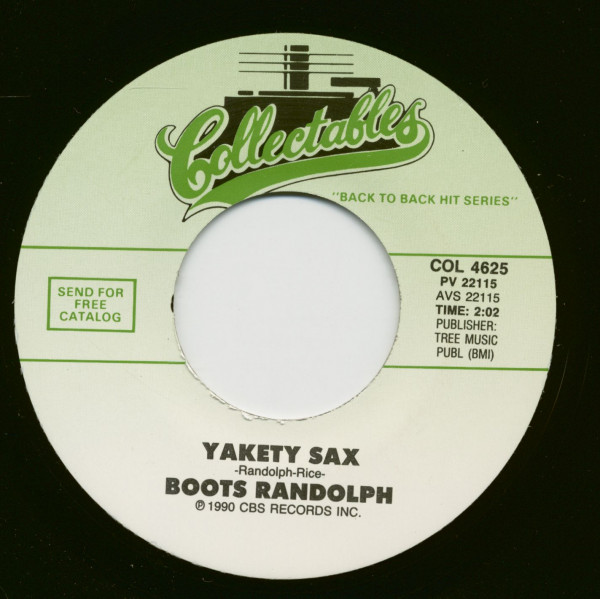 Yakety Sax - Suicide Is Painless (7inch, 45rpm)