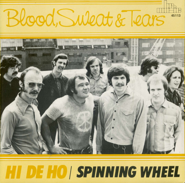 Hi De Ho - Spinning Whee (7inch, 45rpm, BC, PS)