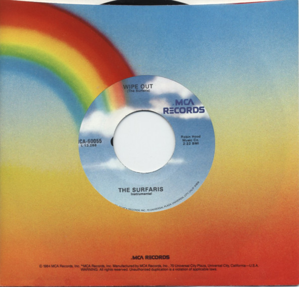 Wipe Out - I'm A Hog For You 7inch, 45rpm, CS